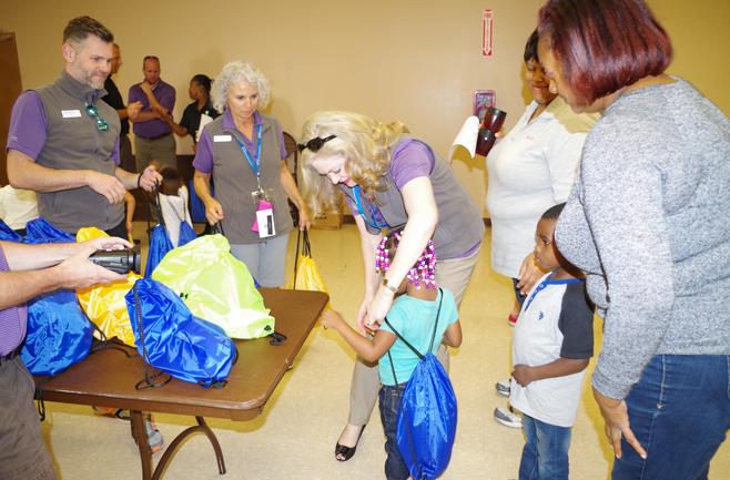 PNC Provides Blessings in a Backpack at Callahan Neighborhood Center