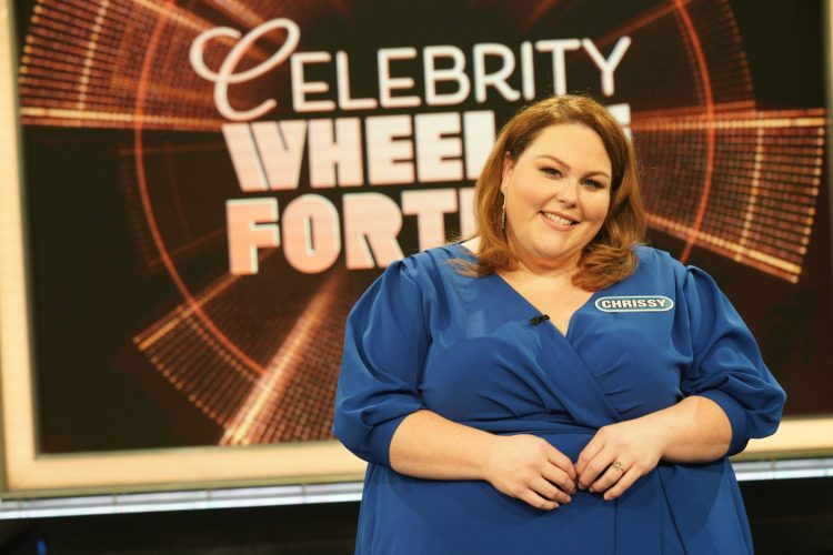 Actress Chrissy Metz Teams Up with Blessings in a Backpack for Celebrity Wheel of Fortune