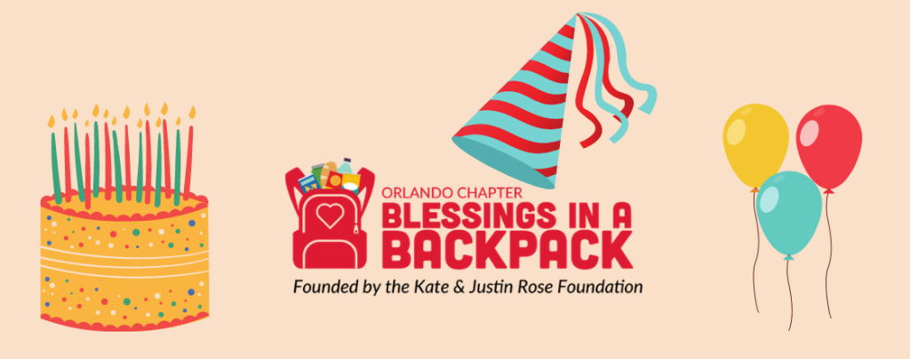 Orlando Chapter celebrates first anniversary as an official Blessings in a Backpack chapter